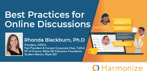 Best Practices for Online Discussions