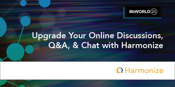Upgrade Your Online Discussions, Q&A, and Chat with Harmonize